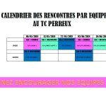 planning match par equipe 2018