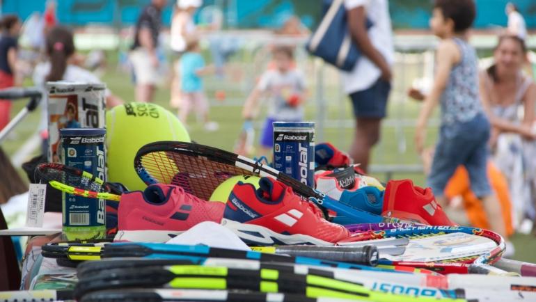 Fête de l'école de tennis le 10 Juin
